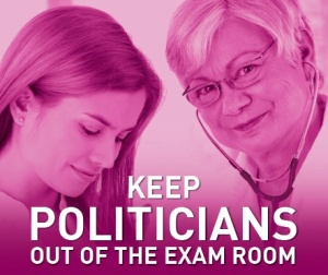 keep politicians out of the exam room